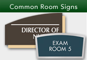 Common Room Signs