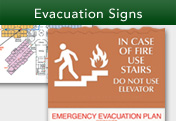 Evacuation Signs