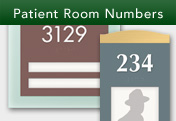 Patient Room Numbers